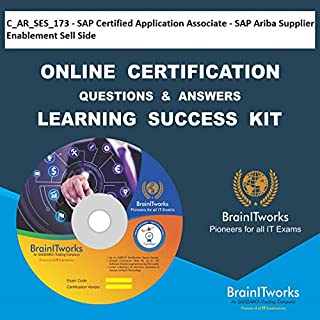C_AR_SES_173 - SAP Certified Application Associate - SAP Ariba Supplier Enablement Sell Side Online Certification Video Learning Made Easy