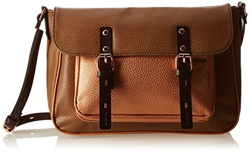 Paquetage Df, Sac messenger - Marron...