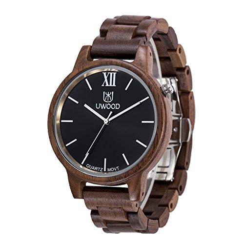 uwood-luxe-design-noyer-matiere-bois-montre-hommes-casual-montre-en-bois
