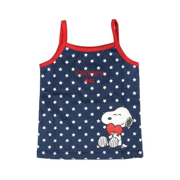 ARTESANIA CERDA Pijama Corto Single Jersey Snoopy Conjuntos Bebés 2
