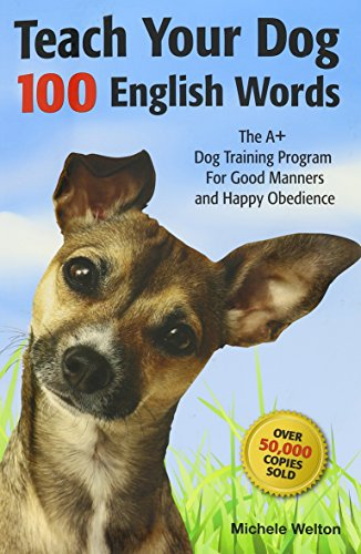 Teach Your Dog 100 English Words Cover Image