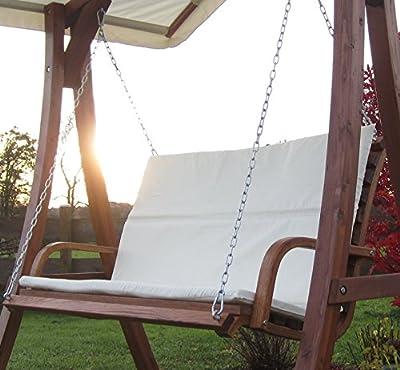 Design Bank aus Holz Lärche für Hollywoodschaukel 2-Sitzer KUREDO (ohne GESTELL!!!) von AS-S