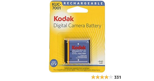 Kodak Li Ion Rechargeable Digital Camera Battery Elektronik