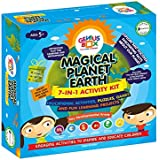 Genius Box Learning Toys For Children : Magical Planet Earth Activity Kit / Educational Kit / Educational Toy / STEM