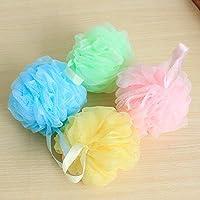 Kaige Bola de baño color cepillo de ducha ducha bañera baño bola baño cuatro piezas de ducha