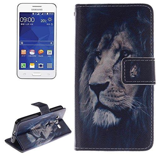 Schützen Sie Ihr Mobiltelefon Plum Pattern Horizontale Flip Leder Tasche mit Halter & CardSlots & Wallet für Samsung Galaxy Core II / G355H für Samsung Handy ( SKU : S-SCS-3687B ) (Fälle S Galaxy 1 Samsung)