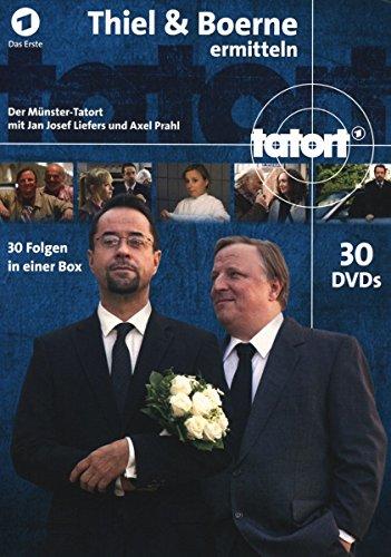 Tatort Münster - Thiel und Boerne ermitteln: Fall 1-30 (30 DVDs)