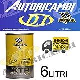BARDHAL XTR C60 Racing 39.67 SAE 5W50 Olio Auto x Motori Elevata Potenza 6lt