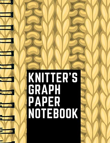 Knitter's Graph Paper Notebook: Knitting Graph Paper Journal | 4:5 Ratio | 110 pages | Letter Format 8.5
