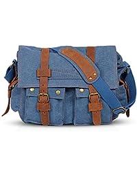 FANDARE Nuevo Bolsa Mensajero Messenger Bag Crossbody Bolso Bandolera  Shoulder Bag 14 Pulgadas Portátil Estudiante Viaje 5d27ad5b23c56