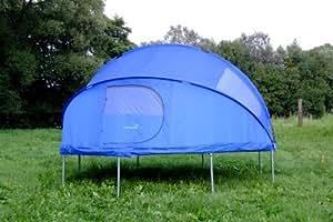 spring fun kinder tente pour trampoline bleu 305 cm sports et loisirs. Black Bedroom Furniture Sets. Home Design Ideas
