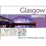 Glasgow PopOut Map: pop-up city street map of Glasgow city centre - folded pocket size travel map (Popout Maps)