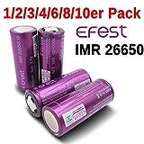 EFEST IMR 26650 Akku - 3500mah 64A - 3,7V Lithium Ionen Hochleistungsakku
