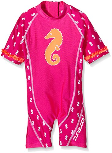 Zunblock Mädchen UV 50 Plus Anzug Seahorse Hollywood, 98/104 - Plus Sunblock