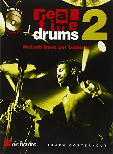 Real Time Drums 2 (It)  Metodo base per batteria + 2 CD