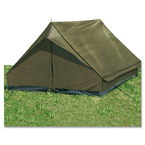 G8DS® Leichtgewichtiges widerstandsfähiges 2-Mann-Zelt mit hoher Wassersäule ′mini pack Super′ oliv
