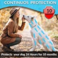 "Tanness Flea and Tick Collar for Large Medium & Small Dogs 25"" Hypoallergenic and Waterproof Tick Prevention and Flea Control Dog Collar for 8 Months of Protection from Tanness"
