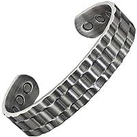 ROLXp Herren-Magnetarmband aus massivem Kupfer, mit 6 starken ND-Magneten zur Schmerzlinderung und Magnettherapie... preisvergleich bei billige-tabletten.eu