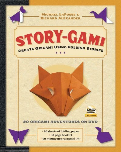 Story-gami Kit Ebook: Create Origami Using Folding Stories: Origami Book with 18 Fun Projects and Downloadable Video Instructions (English Edition)