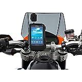Ultimate Addons Din Hella Halterung Schrauben M10 Motoradlenker Lenkerklemmung mit wasserdichte Schutzhülle für Samsung Galaxy S4 i9500