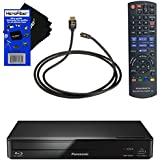 Panasonic DMP-BD93 Smart Network Blu-ray Disc Player With Wi-Fi + Remote Control + Xtech High-Speed HDMI Cable With Ethernet + HeroFiber Ultra Gentle Cleaning Cloth