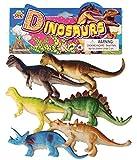 #9: Red Rock GL Plus Plastic Reptiles Animal Dinosaur Model Toy 6 Pcs Multi-Color
