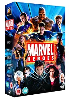 Marvel Heroes : X-Men / X-Men 2 / X-Men 3 The Last Stand / Elektra / Daredevil / Fantastic Four (6 Disc Box Set) [2006] [DVD] (B000KF0WL2) | Amazon price tracker / tracking, Amazon price history charts, Amazon price watches, Amazon price drop alerts
