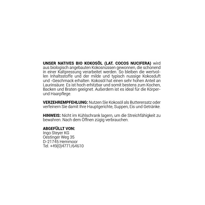 Meracus Bio Kokosl Nativ Im Glas 1er Pack 1 X 250 Ml