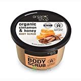 Give your skin a luxurious care with this aromatic body scrub made with organic cinnamon extract, organic honey and natural sugar. Cinnamon and sugar have gentle and soothing properties, while honey nourishes your skin with vitamins to...