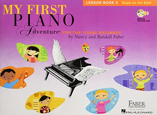 My First Piano Adventure Lesson: Book C: Noten, Lehrbuch, CD für Klavier (Piano Lessons Book 1)