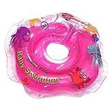 BabySwimmer Original Hals Schwimmring Rosa Gr.3-12 kg Schwimmtrainer Baby Schwimmhilfe TÜV GS