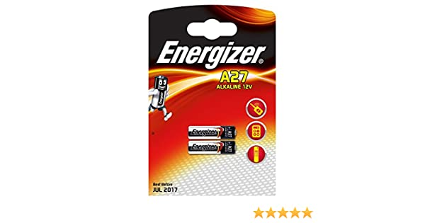 Energizer A27 Household Battery Single Use Battery A27 12v Alcalino 12 V