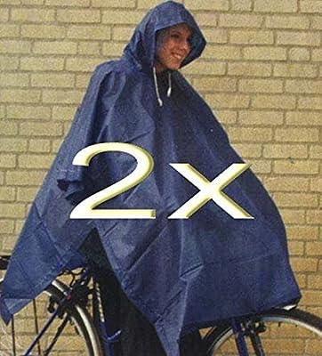 2 oder 4 Stück Regenponcho / s mit Kaputze waschbar bis 20 C gute Qualität Sparpackung von timtina auf Outdoor Shop