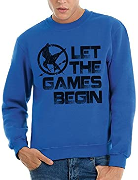 Felpa girocollo THE HUNGER GAMES - LET THE GAMES BEGIN - FILM by MUSH Dress Your Style