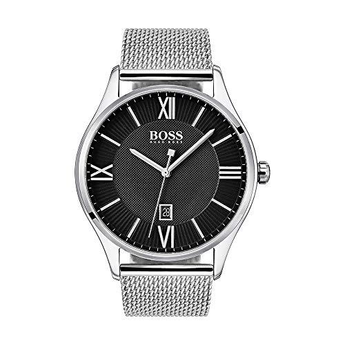Hugo Boss Men's Only Time Steel Strap Watch