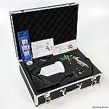 LVLP Spritzpistole Lackierpistole im Koffer FMT 4007 Set mit Zubehör Düsen 1.3/1.8