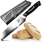 ZELITE INFINITY Bread Knife 8 inch >> Alpha-Royal Series >> Best Quality Japanese