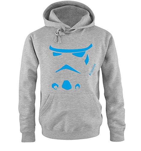 Comedy Shirts -  Felpa con cappuccio  - Maniche lunghe  - Uomo grey / blue