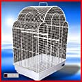 Jingles Bird Cage In White Suitable For Lovebirds, Finch ,canary,parakeet Size Birds from FEANDREA