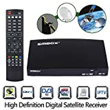 51DSAuu6eOL. SL160  - BEST BUY #1 Genuine SMBOX Satellite Receiver Full HD 1080P Smart TV Box With All Channels, Support PVR Via USB, Web TV, Free to Air Freesat Smart FTA Set Top Box Reviews and price compare uk