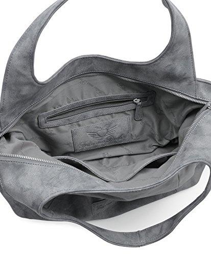 Falso Profesional En Línea Fritzi aus Preußen Yelena Shopper Borsa tote 36 cm Black r33D8no