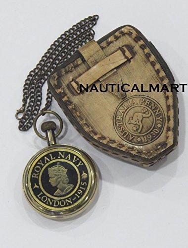 royal-navy-brass-clock-w-leather-case-victoria-london-by-nauticalmart