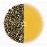 Earl Grey Grüne Tee Blätter aus dem Himalaya (75 Tassen), Aromatisch & Köstlich, Premium Grüner Tee aus Darjeeling, gemischt mit natürlichem Bergamotte Extrakt, direkt aus Green Tea, 150g