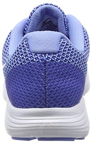 NikeNike Revolution 3, Damen Laufschuhe - Scarpe Running Donna Blu (Chalk Blue/White-Concord 400)