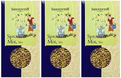 Sonnentor Sprossen-Mix, 3er Pack (3 x 120 g) - Bio von Sonnentor - Gewürze Shop
