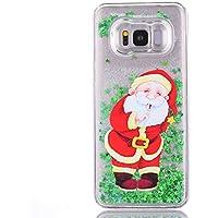 Yobby Silikon Flüssig Hülle für iPhone XR, iPhone XR 3D Kreativ Muster Glitzer Handyhülle [Weihnachten Motiv]... preisvergleich bei billige-tabletten.eu