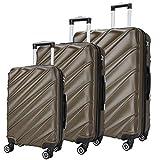 SHAIK  Serie CANDY Design LHR 3 Größen M | L | XL | Set | Hartschalen Kofferset 40/78/124 Liter, 4...