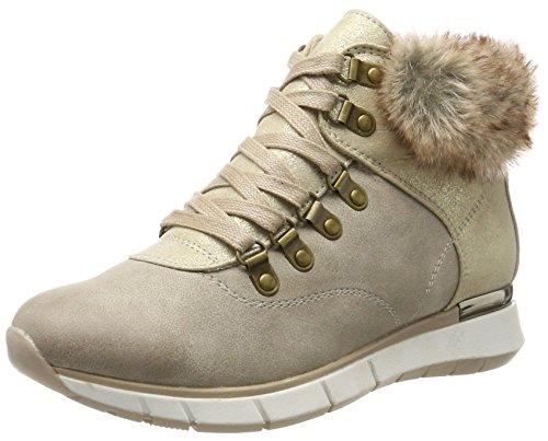Marco Tozzi Damen 26245 Hohe Sneaker, Braun (Taupe Comb), 37 EU (Damen High-top)