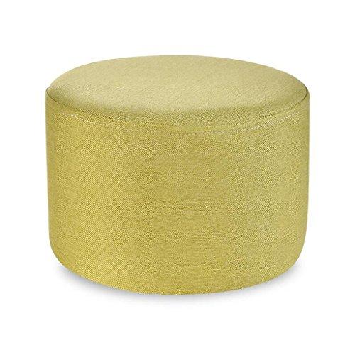 Sofa Hocker Xuan - Worth Having Obst Hocker Haushalt Kreative Runde Sitzen Pier Kinder Hocker Leinen Hocker Sets (28 * 28 * 20 cm) (Farbe : E) -