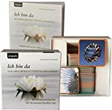 Ich bin da. Affirmationskarten im Hosentaschenformat. Geschenkbox (80 Affirmationskarten + Begleitbuch) - Konstanze Quirmbach